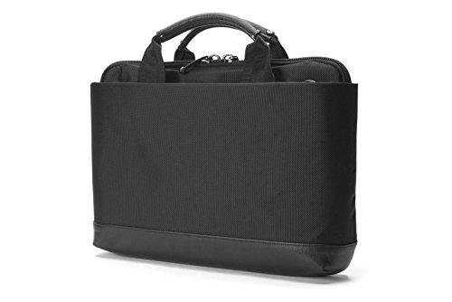 Booq Slim Laptop Breifcase Pro, Nylon, Black