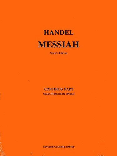 Messiah: Basso Continuo Part
