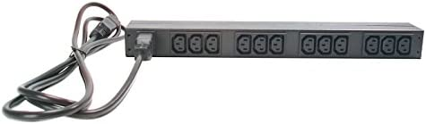 APC AP9565 Rack PDU Basic 1U 16A 208 230V Surge Protector, Black, Model 2701928