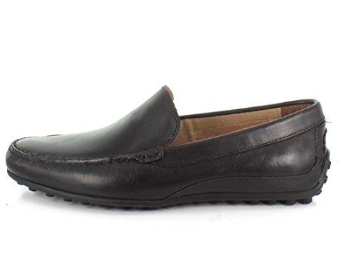 Oval Florsheim Brown Smooth Toe Leather Round Black Loafer Men dwqSx7wT