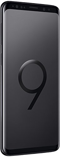 Samsung Galaxy S9 (Dual-SIM / Hybrid-SIM) 64GB SM-G960F Factory Unlocked 4G Smartphone (Midnight Black) - International Version