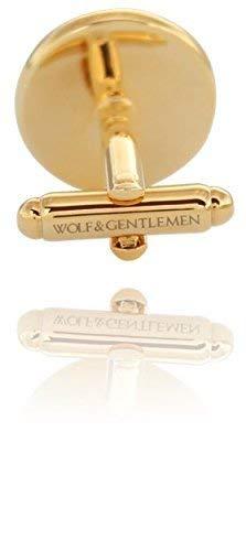 Spende 25 ans de garantie Wolf /& Gentlemen/® Boutons de manchette pour homme coffret en bois Piano vernis