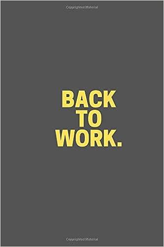 Descargar En Elitetorrent Back To Work.: Business Notebook, Journal, Diary PDF Español