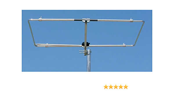 hlp-6 50 MHz 6 m Halo Loop Folded dipolo Antena