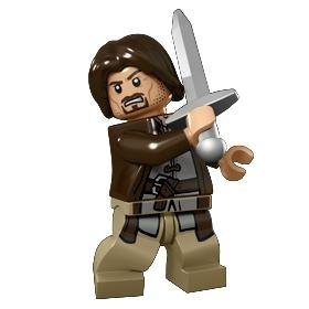 Lego Lord of the Rings Aragorn Minifigure