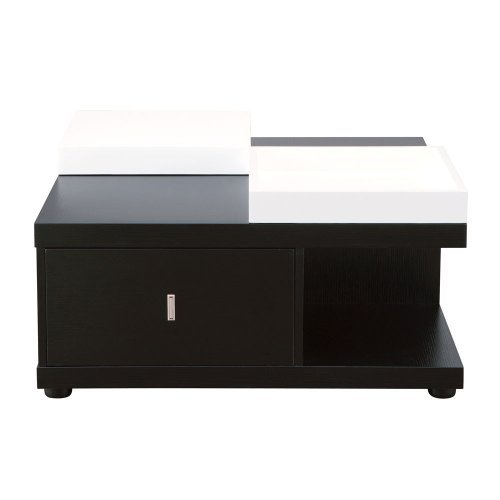 black and white kitchen 247shopathome id 29315ct coffee tables black 29315