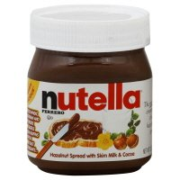 Nutella Hazelnut Spread, with Skim Milk & Cocoa ,13oz (packet of 2)