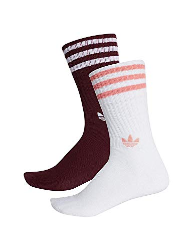 Adidas Chaussettes Multicolore Rose Solid maroon tactile white Mixte o11ABnH4