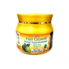Isme Hair Growth Herbal Damaged Treatment Aloe Vera Bergamot Yolk Provitamin B5