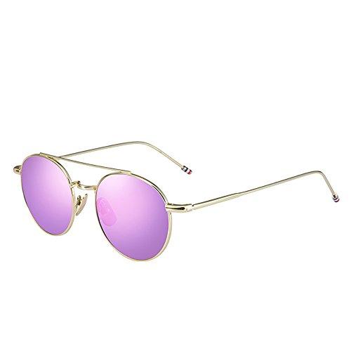Anti Glare Moderno Color Gafas Ms Driving Sol Cielo Unisex Rosa De Polarizada Tac wqSxfP