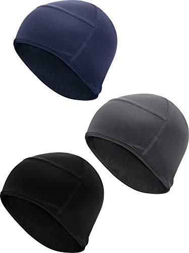 cling Helmet Liner Beanie for Men Fits Under Helmets Wicking ()