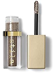stila Magnificent Metals Glitter & Glow Liquid Eye Shadow, Smoky Storm (Light Pewter with Silver Sparkle)