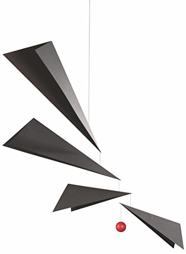Wings Hanging Mobile - 36 Inches - Plastic - Handmade in Denmark by Flensted