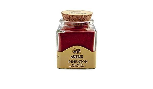 Onena Pimentón Picante Especias 60 g: Amazon.es: Alimentación y bebidas