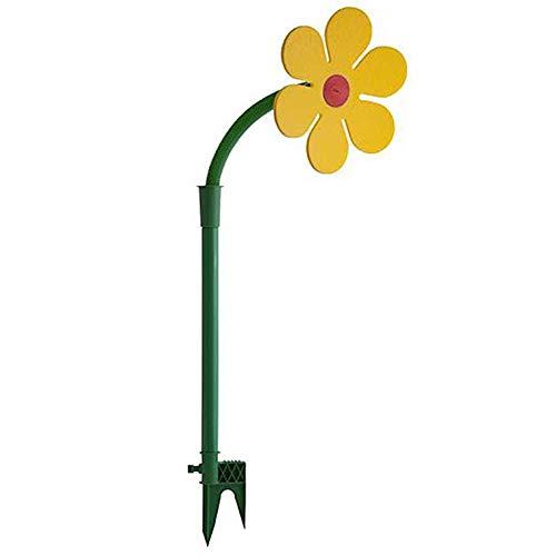 FAgdsyigao Water Sprinkler,Dancing Daisy Yard Lawn Watering Sprinkler Sprayer Nozzle Garden Irrigation Tool Green + Yellow