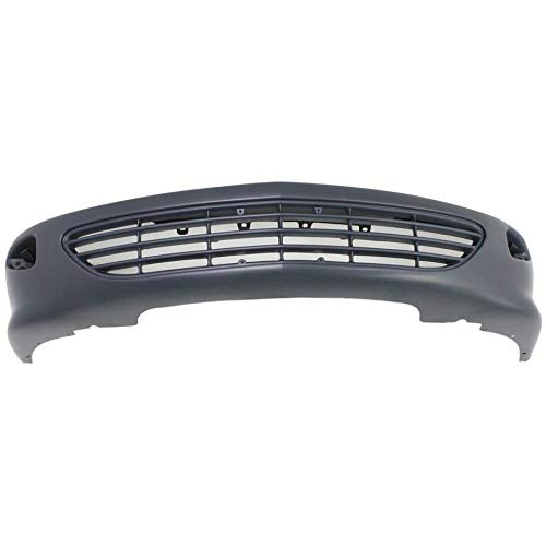 New Front Bumper Cover For 1995-1999 Chevrolet Cavalier Primed, Except Z24 Model GM1000504 22597557