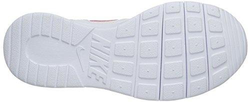 Nike Unisex-Kinder Kaishi (GS) Low-Top, Black-White Weiß (106 White/Hyper Pink)