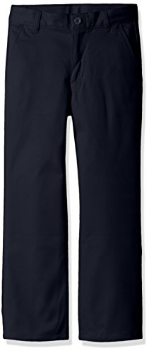 - Dockers Little Boys' Uniform Twill Pants, Navy, 06