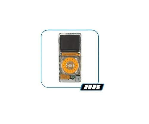 Ipod Nano Click Wheel - iPod Nano 1st Generation iVUE Clear Front Panel, Clear Click Wheel, Thinskin & Earbuds
