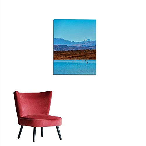 (longbuyer Photo Wall Paper Atacama Desert - Salt Lagoon - Volcanic landescape - Oasis - Wild Life Reserve - Flamingo Bird - Cejar Lagoon Mural 20