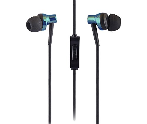 Sound One 007 In Ear Earphones with MIC BLUE