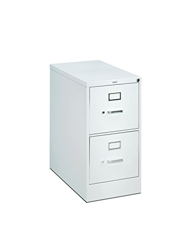 s 26-1/2-Inch 2-Drawer Full-Suspension Letter File, Light Gray (Full Suspension File 3 Drawer)