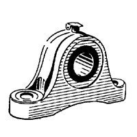 Chicago Die Casting 95006 Pillow Block