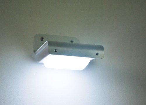 Plafoniera Esterno Led Prezzo : Anself led yard parete della casa luce solare di