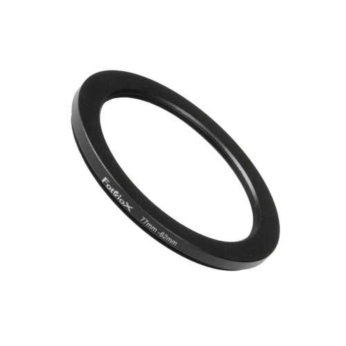 Fotodiox Metal Step Down Ring Filter Adapter, Anodized Black Aluminum 72mm-62mm, 72-62 mm