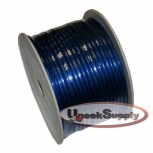 8 Gauge Power Wire Blue 200' Roll by IMC Audio