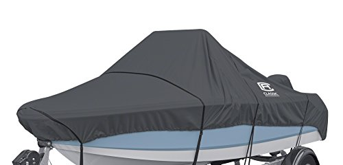 System Mooring (Classic Accessories StormPro Heavy-Duty Center Console Boat Cover, 20'-22' Long, Up to 106