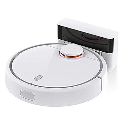 Pudincoco Aspirador robótico Tipo Smart Plan para el hogar XIAOMI MI con Control de aplicación WiFi