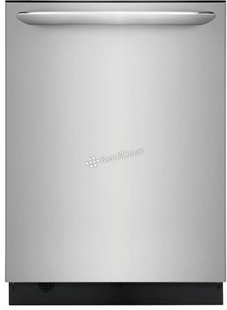 Frigidaire LGID2478SF 24 Inch Built In Fully Integrated Dishwasher with 7 Wash Cycles in Stainless Steel