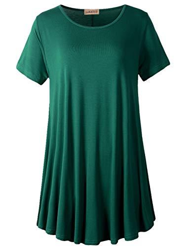 Short Sleeves Flare Tunic