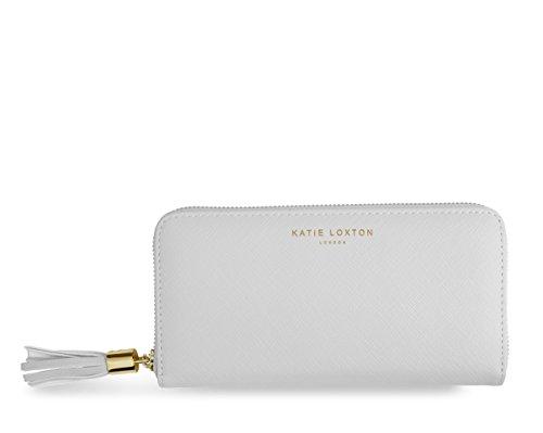 Loxton Large grey Tassel Purse Coin Katie 10x20x2 Purse 5cm Card aw6ZwHq