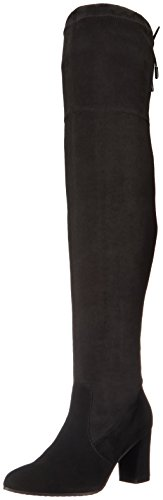 Blondo Women's Taras Waterproof Winter Boot, Black Suede, 8 M US by Blondo