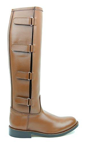 12d9d796a5a9 Hispar Spirit Ladies Women Tall knee high Leather Equestrian Polo Boots