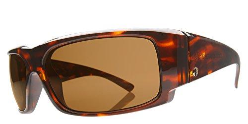 Electric Visual Hoy Inc Sunglasses,Tortoise Shell Frame/Bronze Lens,One - Shell Tortoise Electric Sunglasses