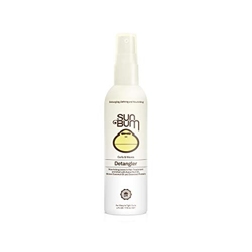 Sun Bum Curls & Waves Detangler Spray|Conditioning Leave