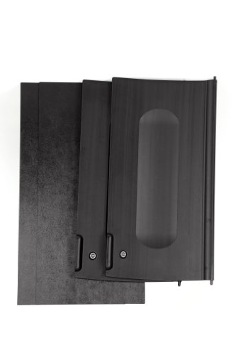 Rubbermaid Commercial Cabinet Door Kit, Black, FG9T8500BLA