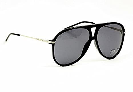 8fa55a0d03156 Image Unavailable. Image not available for. Color  Christian Dior Sunglasses  Mens Black Aviator ...