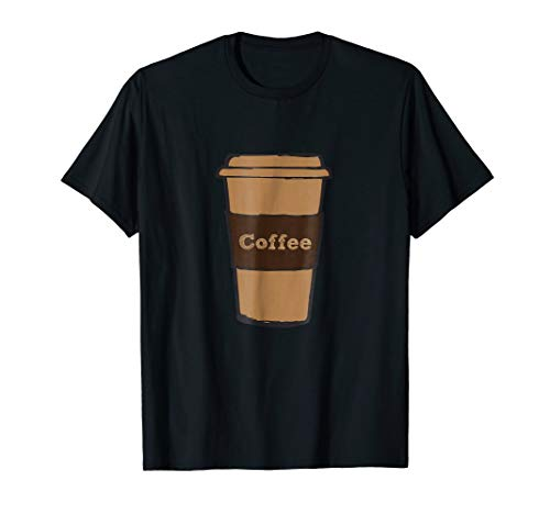 (Coffee Cup Costume Shirt Roasted Beans Brewed Drink)