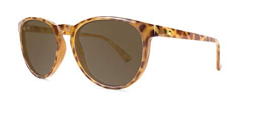 Knockaround Mai Tais Polarized Sunglasses With Blonde Tortoise Shell Frames/Brown - Sunglasses Blonde Womens