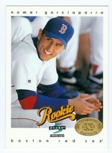 Amazoncom Nomar Garciaparra Baseball Card Boston Red Sox