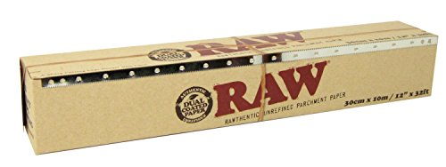 RAW Unrefined Parchment Paper Roll (1, - Kraft Paper Tubes