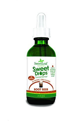(SweetLeaf Sweet Drops Liquid Stevia Sweetener, Root Beer, 2 Ounce)