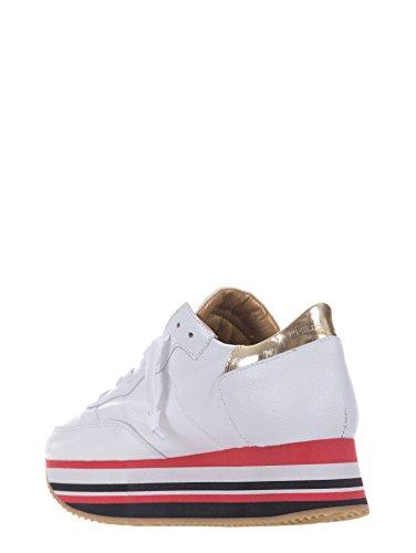 Philippe Model Damen Sneaker Weiß Bianco