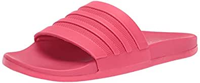 cheap for discount a6bc4 40a54 Image Unavailable. Image not available for. Color adidas Womens Adilette  Comfort, Active Pink ...