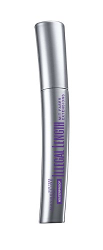 Maybelline New York Illegal Length Waterproof Mascara Black, 7 ml