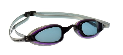 MP Michael Phelps K180+ Women Goggle Smoke Lens Purple/Silver